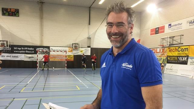 Trainer Rolf Erdin