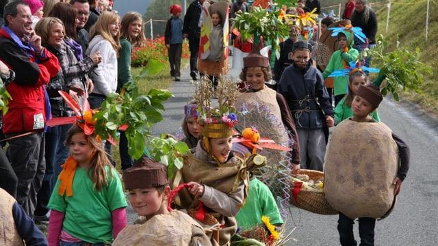 Festa da racolta Valchava.