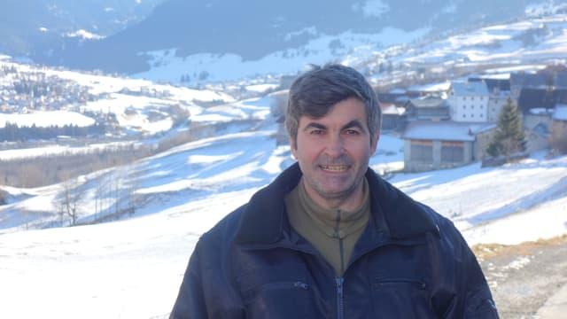 Il president communal da Salouf Gian Sonder.