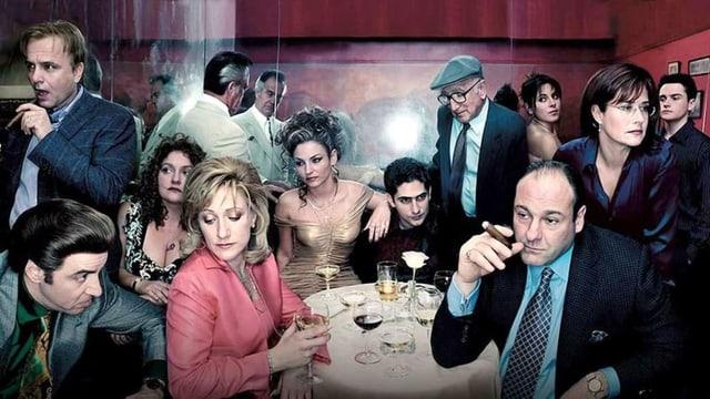 Die HBO-Serie «The Sopranos» ist verfügbar beim Streamingdienst von Sky.