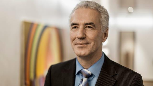 Portrait des Lonza Konzernchefs Richard Ridinger