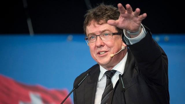 Albert Rösti n'è betg pli candidat per il Cussegl federal.