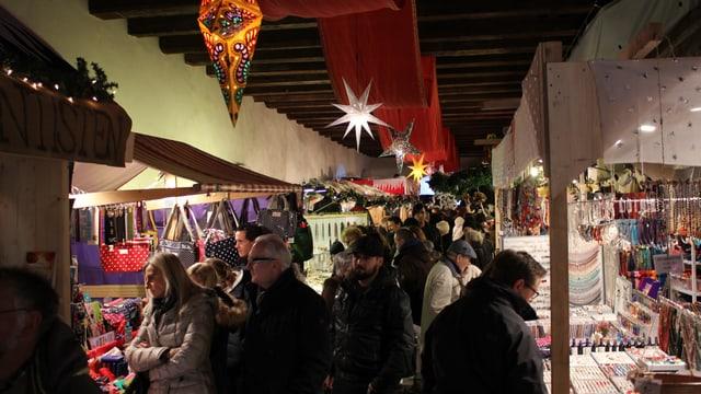 Stimmung am Weihnachtsmarkt