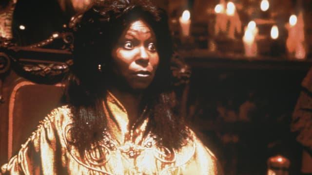 schwarze Frau als Hellseherin