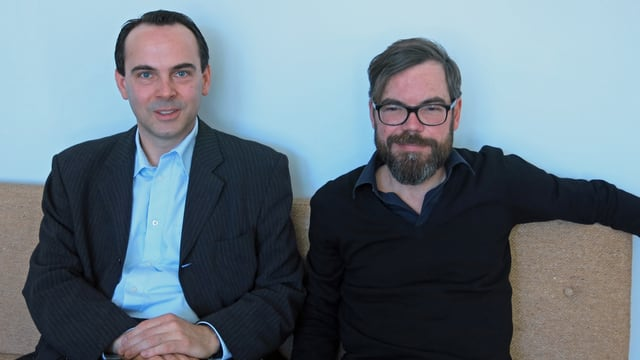 Oliver Lubrich und David Wagner