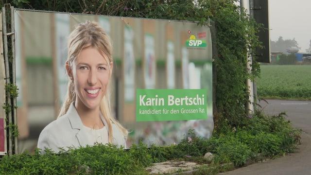 Plakat von Karin Bertschi