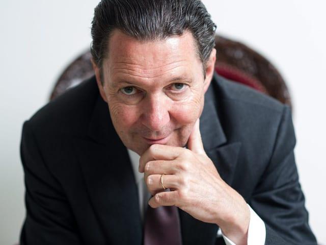 Martin Suter, Schweizer Bestsellerautor – zum ersten Mal in der Wort des Jahres-Jury.