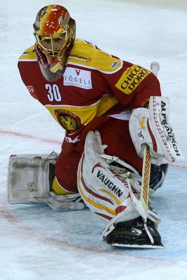 Thomas Bäumle bleibt den Tigers treu.
