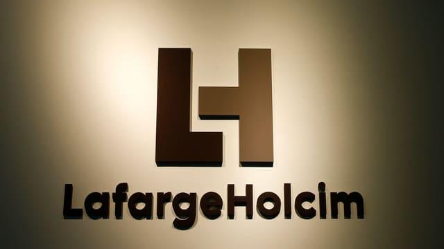 Firmensignet von Lafarge-Holcim