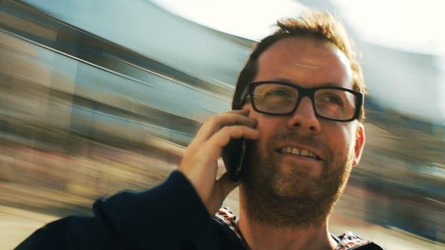 Florian Opitz im Film «Speed».