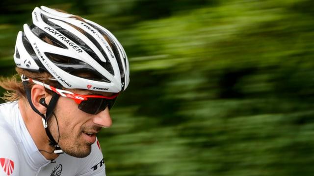 Fabian Cancellara mit Helm.