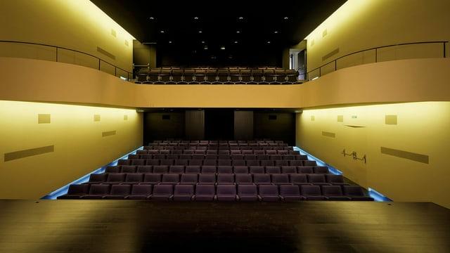 Kinosaal Odeon heute
