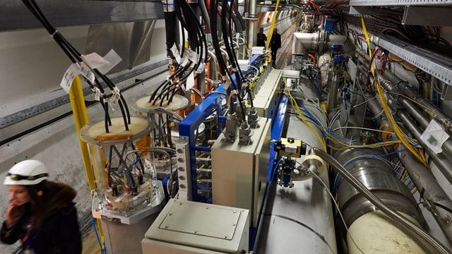 Der Teilchenbeschleuniger am Cern.