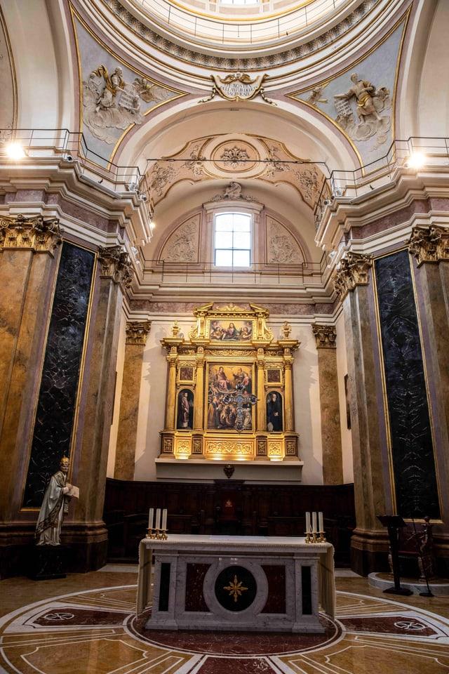 Altar der Santa Maria del Suffragio