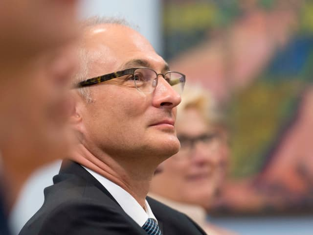 Bernhard Pulver im Porträt.