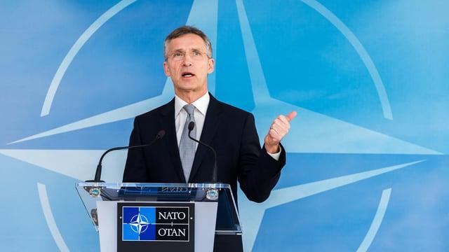 Secretari general da la NATO, Jens Stoltenberg.