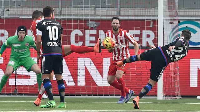 Renato Steffen erzielt sein 2. Saisontor für Basel.