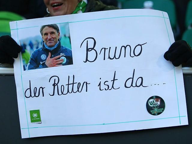 Mit Bruno Labbadia, dem neuen Coach, soll es aufwärts gehen in Wolfsburg.