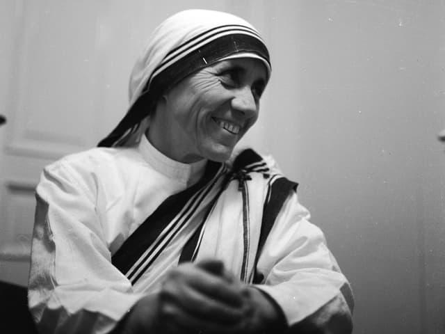 Mutter Teresa im Jahr 1960.