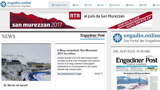 Part da la homepage.