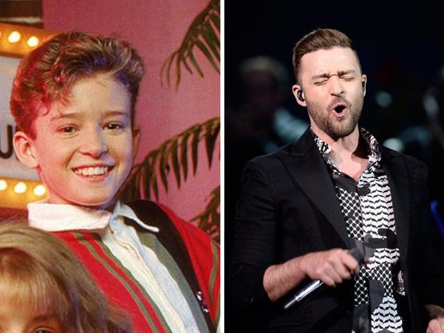 Wie Britney startete Justin Timberlake 1992 seine Karriere im Mickey Mouse Club. 2016 ist er ein globaler Pop- und Filmstar.