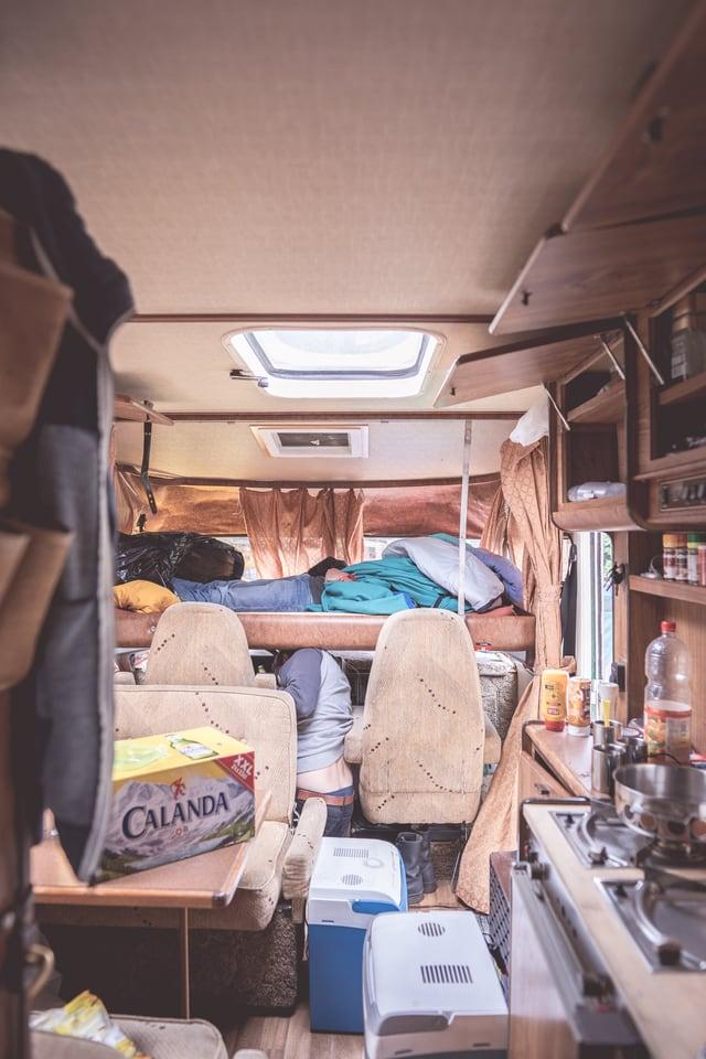 Endadens in camper