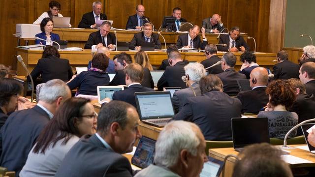 Mitglieder des Grossen Rates.