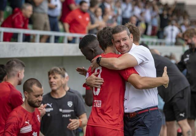 Mario Frick hat mit Vaduz die Chance auf den Aufstieg in die Super League.