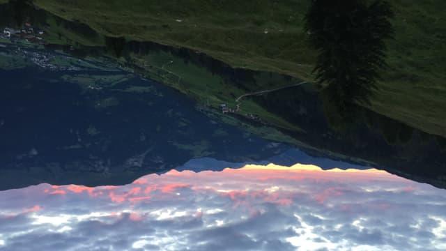 Vista vers la Val Schons.