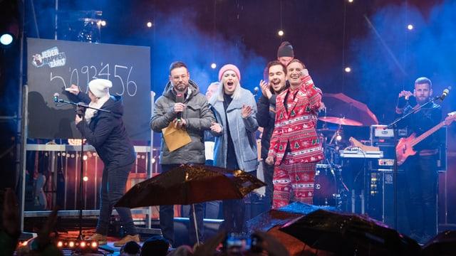 Video ««Jeder Rappen zählt» - Liveshow vom 21.12.2017» abspielen