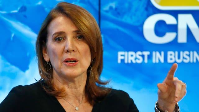 Die Finanzchefin des Google-Mutterkonzerns Alphabet, Ruth Porat.