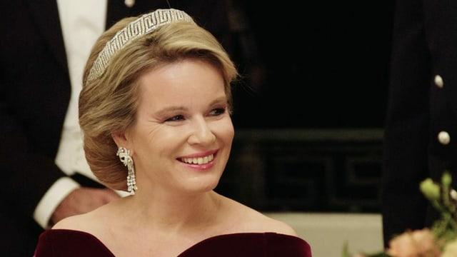 Königin Mathilde auf Staatsbesuch in Frankreich