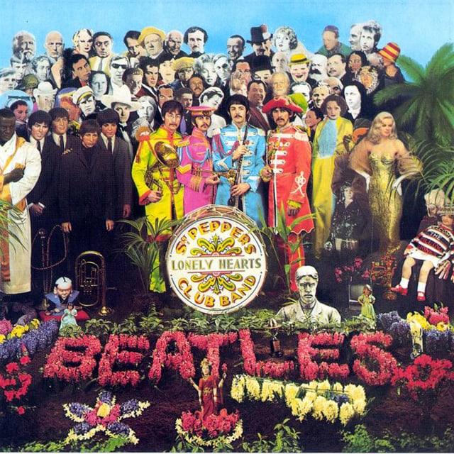 Cover zum Beatles-Album «Sgt. Pepper's».