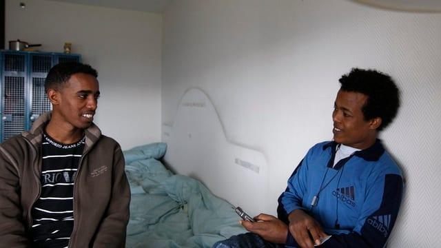 Jugendliche Asylbewerber in Zürich