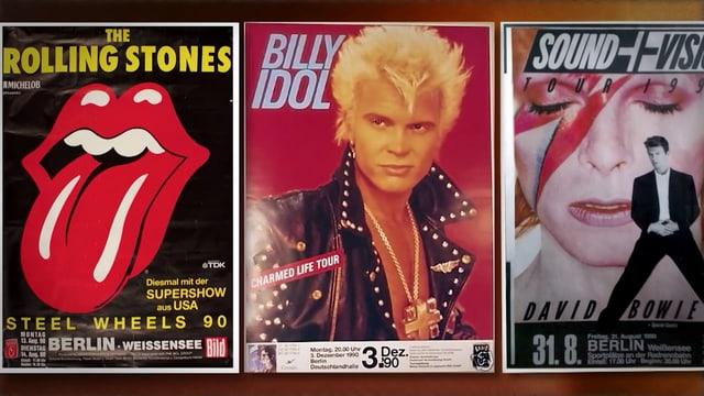 Drei Magazin-Covers.