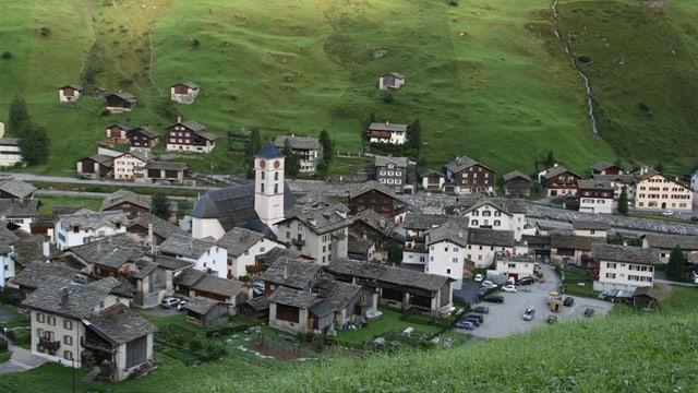 La vischnanca da Val Sogn Pieder.