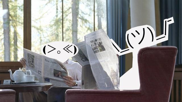 Entspanntes Lesen in Bequemen Sesseln