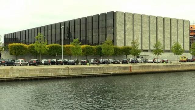 Gebäude der dänischen Notenbank.