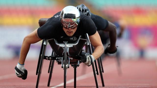 sportist impedì Marcel Hug en la sutga da rodas