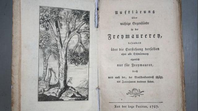 Altes Buch der Freimaurer
