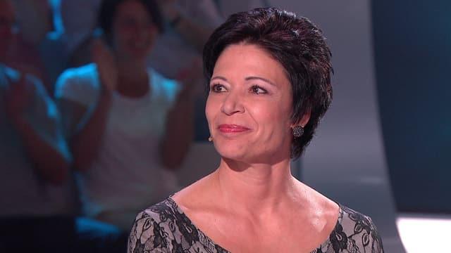 Video «Marina Schoch leitet ein Informatikteam, treibt gerne Sport und unternimmt viel mit ihrem Ehemann und den beiden Kindern.» abspielen
