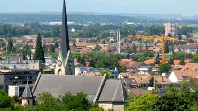 Blick über Binningen.
