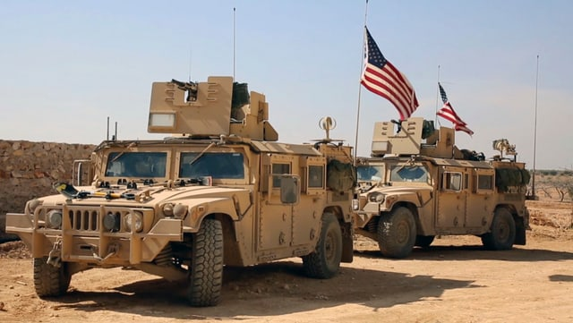 US-Truppen in Manbij