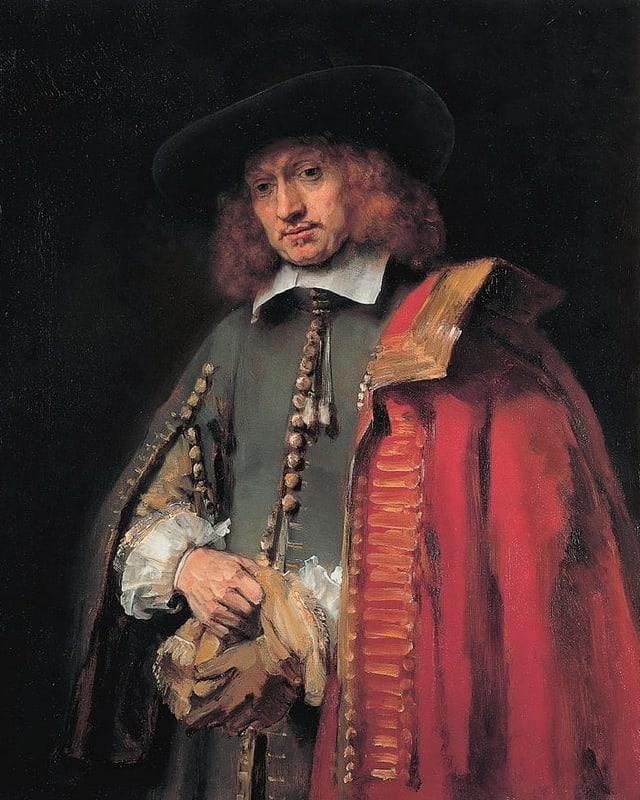 Jan Six Porträt.