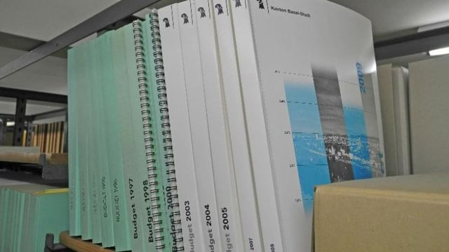Budgetbücher BS