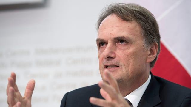 Mario Gattiker, il secretari statal per migraziun.