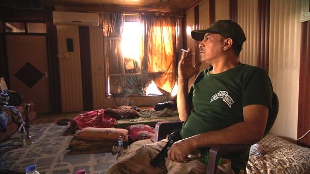 Irakischer Soldat.
