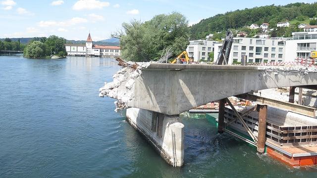Rest der alten Brücke