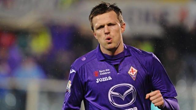 Fiorentinas Josip Ilicic beim Training.