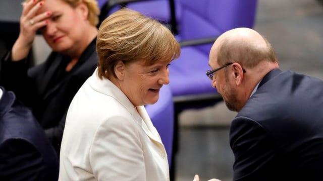 Purtret dad Angela Merkel.